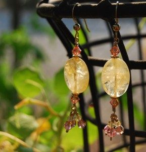 citrine-and-peach-swarovski-crystal-earrings-1